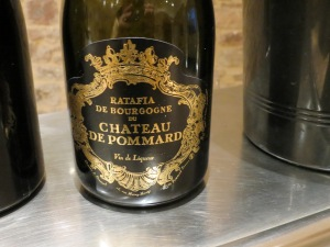 Burgundy ratafia from Chateau de Pommard